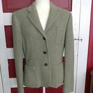 Ralph Lauren Jacket Wool Blend Blazer 12